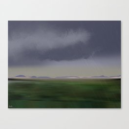 Raincloud Canvas Print