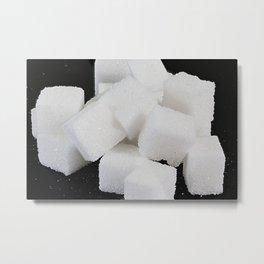 lump sugar Metal Print