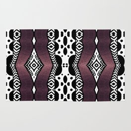 Purple Shimmer Rug