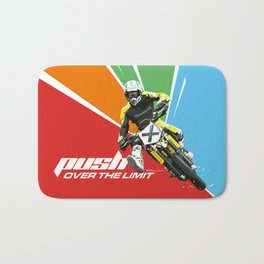 Motocross - Push Over The Limit Bath Mat