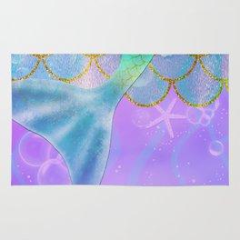 Mermaid Iridescent Shimmer Rug
