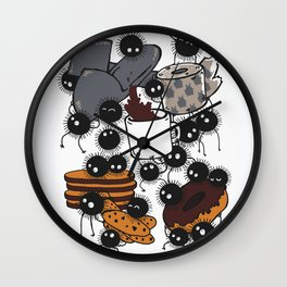 All you need in the morning  Wall Clock