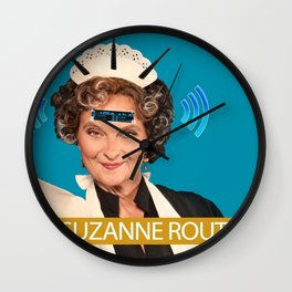 Suzanne Router Wall Clock