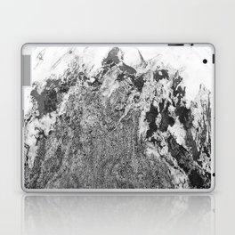 Marble Mountain Black and White I Laptop & iPad Skin