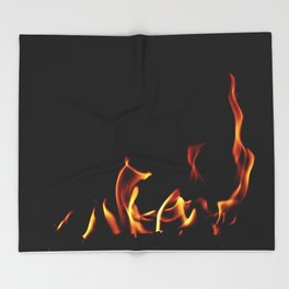 Stories From The Fireplace - Red Riding Hood Throw Blanket