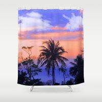 thailand Shower Curtains featuring thailand by mark ashkenazi
