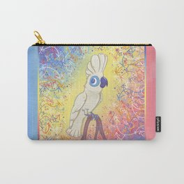 Clever Little Cockatoo Carry-All Pouch