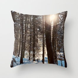 Hope is rising. Throw Pillow