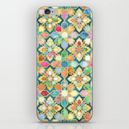 Gilded Moroccan Mosaic Tiles iPhone Skin