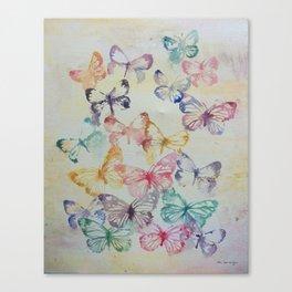 Butterflies II Canvas Print