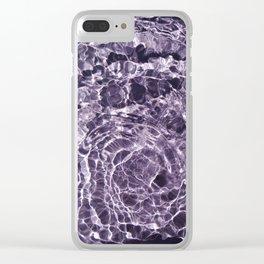 Violaceous Soul Clear iPhone Case