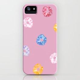 SCRUNCHIE PATTERN iPhone Case