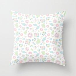 Baby Marshmallow Throw Pillow