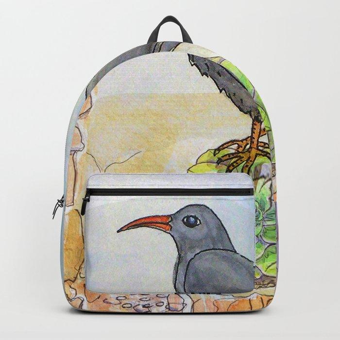 Bird on the Flower / Graja y Bejeque Backpack