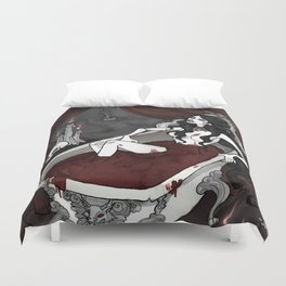 Bathory having fun Duvet Cover