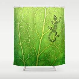 lizard Shower Curtain
