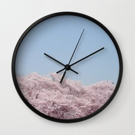 cherry blossum Wall Clock