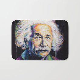 Albert Einstein Bath Mat