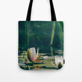 lily of the pond Tote Bag