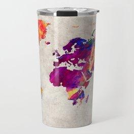 World Map 50 Travel Mug
