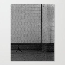 Street Football Canvas Print