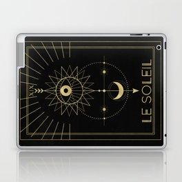 Le Soleil or The Sun Tarot Laptop & iPad Skin