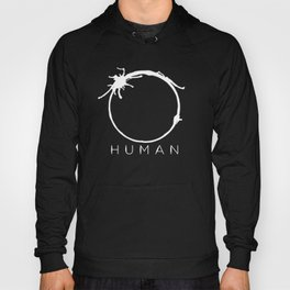 Arrival - Human with title Hoody