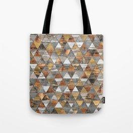 Rustic Geometry 3 Tote Bag
