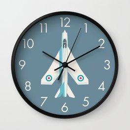 English Electric Lightning RAF Jet Fighter - Slate Wall Clock