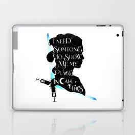 rey - light Laptop & iPad Skin