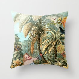 GARDENING Throw Pillow