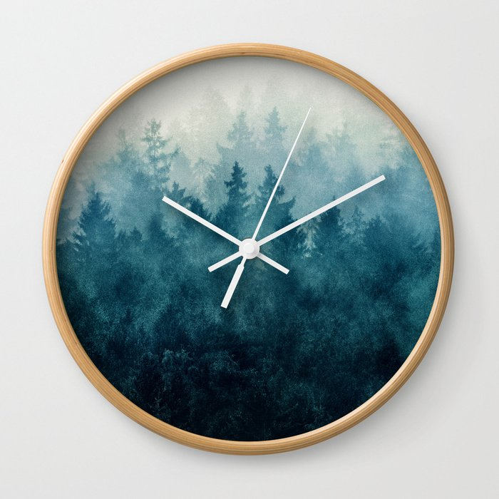 The Heart Of My Heart // So Far From Home Edit Wall Clock