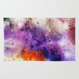 Colorful abstract background Rug