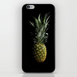 Dark Pineapple iPhone Skin