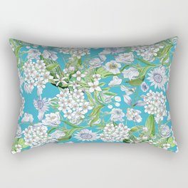 Royal Wedding Flowers, Meghan Markle's Bouquet Rectangular Pillow