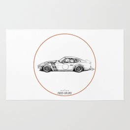 Crazy Car Art 0001 Rug