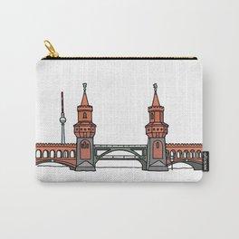 Oberbaum Bridge in Berlin Carry-All Pouch