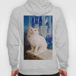 The tale of Tyche the white kitty Hoody