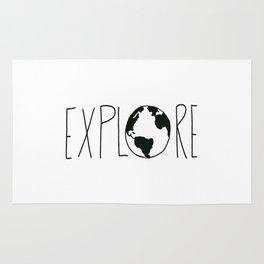 Explore the Globe x BW Rug