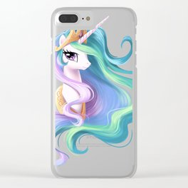 Beautiful unicorn drawing Clear iPhone Case