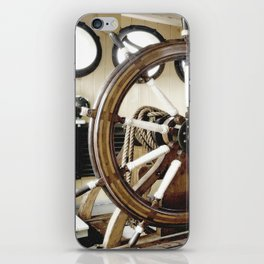 Captains Wheel photography iPhone Skin
