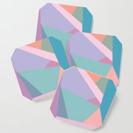 Fractured Triangles in Playful Color Coaster