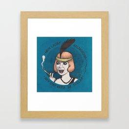 Kalakukkoa / Lena Nyman Framed Art Print