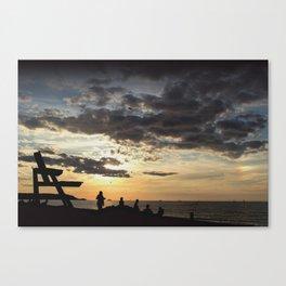 Cedar Beach Canvas Print