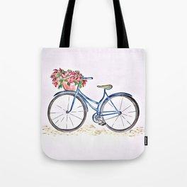 Spring bicycle Tote Bag
