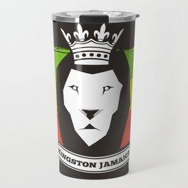 Rasta Lion Travel Mug
