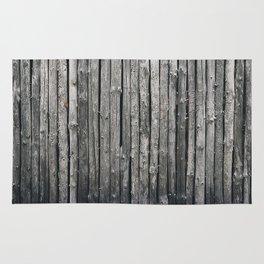 dark vertical wood Rug