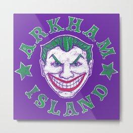 Arkham Island Metal Print