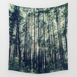 Behind the Trees Wall Tapestry