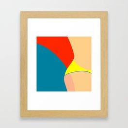 A little bit of.. Framed Art Print
